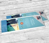 Bookmarks - Linen Uncoated